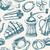 idea · signo · línea · restaurante · vector · alimentos - foto stock © decorwithme