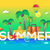 summer   vector line travel illustration stock photo © decorwithme