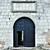 büyük · demir · kale · kapı · Bina - stok fotoğraf © DedMorozz