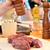 férfi · hús · nyers · tábla · étel · konyha - stock fotó © DedMorozz