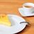 pezzo · torta · piattino · isolato · bianco - foto d'archivio © dedmorozz