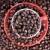 kávé · piros · csésze · közelkép · fából · készült · kávé - stock fotó © dedmorozz