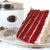 slice of red velvet cake closeup stock photo © dehooks