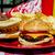 hot · dog · ketchup · mosterd · flessen · geïsoleerd · witte - stockfoto © dehooks