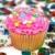 Sweet · шестнадцать · рождения · именинный · торт · свечей · шаров - Сток-фото © dehooks
