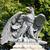 sas · kő · szobor · építészeti · részlet · épület · madár - stock fotó © dengess