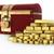 sleutel · geluk · goud · geld · succes · winnaar - stockfoto © dengess
