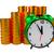 alarm clock and coins stock photo © dengess