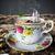 natureza · morta · xícara · de · café · brinquedo · barco · férias - foto stock © denisgo