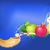 rosh hashana traditional holiday still life apple honey and shofar stock photo © denisgo