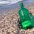 mensagem · garrafa · flutuante · oceano · verde · céu - foto stock © denisgo