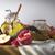 honing · jar · citroenen · lepel · geïsoleerd · witte - stockfoto © denisgo