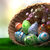 decorated easter eggs with plants and flowers stock photo © denisgo