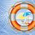 naranja · rescate · barco · playa · agua · seguridad - foto stock © denisgo