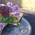 celebração · páscoa · ovos · tabela · comida · vinho - foto stock © denisgo