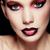 genç · esmer · yaratıcı · makyaj · tavuskuşu - stok fotoğraf © denismart