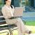 donna · d'affari · estate · parco · computer · laptop · lavoro - foto d'archivio © DenisNata