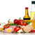 verse · groenten · vlees · witte · voedsel · gezondheid · salade - stockfoto © DenisNata