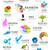 3D · seta · cor · projeto · elementos - foto stock © designer_things