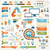 infographic elements and communication concept vector ribbons and corners stock photo © designer_things