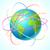 wereldbol · schone · witte · wereld · aarde · kunst - stockfoto © designer_things