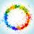 kleur · verf · spatten · helling · vector · Blauw - stockfoto © designer_things