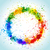 color paint splashes round background stock photo © designer_things