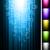 vibráló · kék · neon · keret · sötét · vektor - stock fotó © designer_things