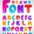 hand drawn vector font letters stock photo © designer_things