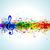azul · pintura · salpicaduras · vector · eps10 · textura - foto stock © designer_things