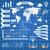 wereldkaart · communie · kaart · abstract · wereld - stockfoto © designer_things