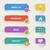 стрелка · веб · набор · стиль · Vintage · интерфейс - Сток-фото © designer_things