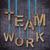 文字 · 絞首刑 · チームワーク · 青 · 作業 · 背景 - ストックフォト © designsstock