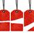 piros · ár · címke · címke · akasztás · fonal - stock fotó © designsstock