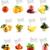 saludable · alimentos · orgánicos · establecer · frescos · frutas · hortalizas - foto stock © designsstock