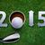 feliz · novo · golfe · ano · 2014 · golfball - foto stock © designsstock