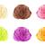 sorvete · branco · comida · chocolate · laranja - foto stock © designsstock