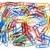 disorganized multicolored paperclips stock photo © devulderj