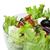 salad in a glass bowl close up stock photo © deyangeorgiev