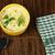 鶏 · クリーム · スープ · スプーン · パン · 表 - ストックフォト © deyangeorgiev