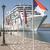 grande · crucero · blanco · día · Grecia · cielo - foto stock © deyangeorgiev