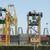 container · vracht · schip · werken · kraan · brug - stockfoto © deyangeorgiev