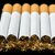 Arranged in a row cigarettes stock photo © deyangeorgiev