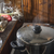 Cooking meat in vintage kitchen stock photo © deyangeorgiev