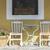 clásico · azul · sillas · madera · escuela · moda - foto stock © deyangeorgiev