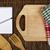 notebook · scrivere · ricette · cucchiaio · forcella · cucina - foto d'archivio © deyangeorgiev
