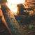 férfi · tábortűz · fiatalember · homok · tengerpart · láng - stock fotó © deyangeorgiev