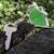 domu · drewna · zielone · kolor · działalności - zdjęcia stock © deyangeorgiev