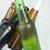 緑 · ボトル · ビール · アイスキューブ · 氷 · バー - ストックフォト © deyangeorgiev