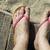 láb · tengerpart · láb · fiatal · felnőtt · ázsiai · női - stock fotó © deyangeorgiev
